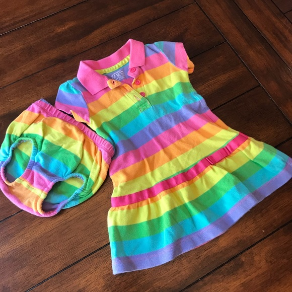 Carter's Other - Rainbow Multicolor Dress